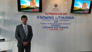 KTU atstovai dalijosi patirtimi medicinos technologijų srityje Tailande