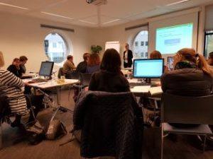 Aplinkos inžinerijos instituto darbuotojai dalyvavo tarptautiniuose mokymuose Olandijoje