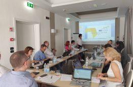 Interreg ELISE projekto partnerių Veiksmo planų pristatymas Italijoje