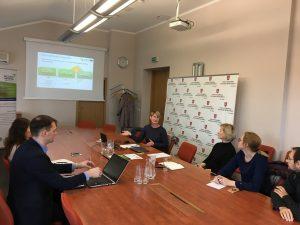 """Aplinkos ministerijoje buvo pristatytas """"Interreg Europe"""" programos projektas """"BIGDATA4RIVERS"""""""